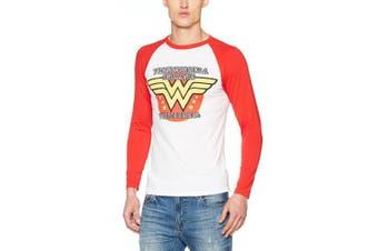 (FR : M (Taille Fabricant : M), multicolored) - C.I.D. Men's Wonder Woman T-Shirt