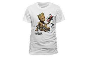 (Small, White) - CID Men's T-Shirt