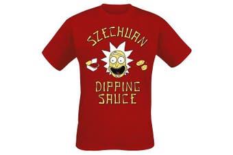 (XX-Large (Manufacturer size: XX-Large), Red) - CID Men's T-Shirt