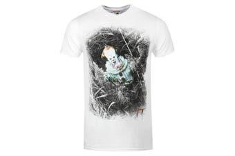 (Large (Manufacturer size: Large), White (Weiß)) - CID Men's T-Shirt