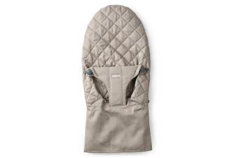 (Cotton, Sand Gray) - BABYBJORN BabyBjorn Fabric Seat for Bouncer, Sand Grey, Cotton, Sand Grey