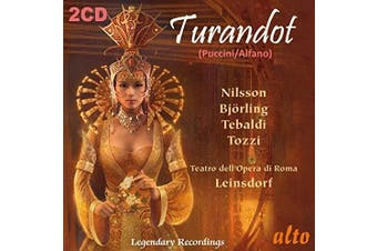 Turandot Nilsson Bjorling Tebaldi