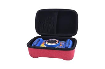 (for Kidizoom DUO, Red) - Storage Hard Case for Kid VTech Kidizoom Camera by Aenllosi (for Kidizoom DUO, Red)