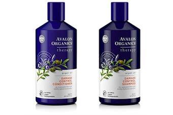 Avalon Organics Argan Oil Shampoo and Conditioner Set