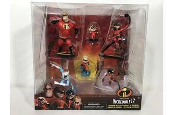Disney Pixar incredibles 2 figurine playset