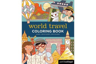 (World Travel) - Petit Collage World Travel Colouring Book