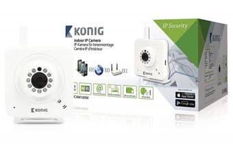 (White) - König SAS-IPCAM100W Indoor IP Camera - White