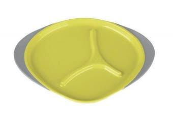 (One Size, Lemon Sherbet/Yellow/Grey) - b.box Plate - Lemon Sherbet