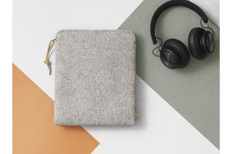 B & O PLAY by Bang & Olufsen Beoplay Fabric Headphone Carry Bag - Grey