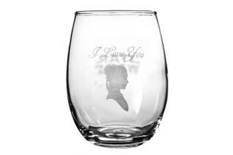 (I Love You, I Know) - Star Wars Collectible Wine Glass Set (I Love You, I Know)
