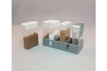 Mini Spice Rack for Motorhome , Caravan, Boat or Camping : Lightweight