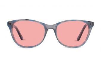(Indoor Lenses, Blue) - TheraSpecs Audrey Migraine Glasses for Light Sensitivity, Photophobia and Fluorescent Lights | Women | Indoor Lenses | Blue