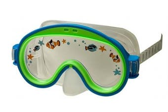 (Blue) - Intex Mini Aviator Swim Mask (Colours May Vary)