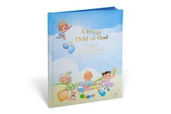 Happy Child of God Catholic Baby Record Keeping Book, 26cm