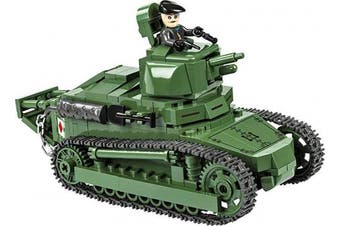 COBI Small Army /2973/ Renault FT-17 Tank, Construction Toy – Green