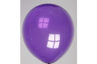 "(Voilet, 10 Balloons) - Clikkabox 10 12"" (30cm) Balloons. The very best Quality round latex Balloons (Voilet, 10Balloons)"