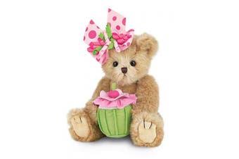 Bearington Casey Cupcake Birthday Teddy Bear 25cm
