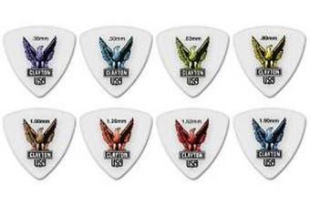 (1.26 mm) - Clayton Acetal Guitar Picks (Select from gauges .38mm - 1.90mm)