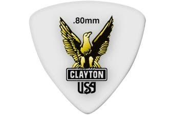 (0.80 mm) - Clayton Acetal Guitar Picks (Select from gauges .38mm - 1.90mm)