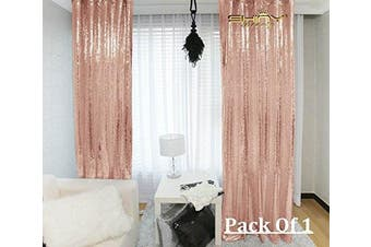 (3FTx2.1m, Blush) - ShinyBeauty 3FTX2.1m-Sequin Backdrop-Curtain-Blush , 90cm X 210cm Sequin Photography Curtain,Ready to SHIP. (Blush)