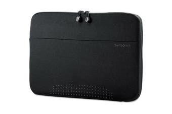 (Black) - Samsonite 43324-1041 14 in. Aramon Laptop Sleeve Neoprene 14.5 x 1 x 10.5 Black