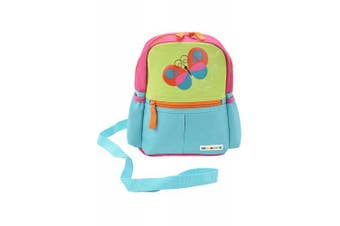 (Butterfly) - Alphabetz Butterfly Toddler Backpack With Leash, Safety Harness, For Girl