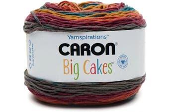 (Toffee Brickle) - Caron Big Cakes Self Striping Yarn ~ 603 yd/551 m / 310ml/300 g Each (Toffee Brickle)