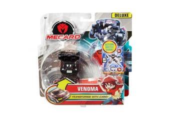 (Vernoma) - Mecard Venoma Deluxe Mecardimal Figure, Black