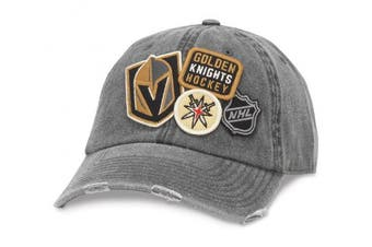 American Needle Vegas Golden Knights Iconic Distressed Adjustable Hat