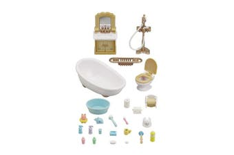 Calico Critters Country Bathroom Doll Furniture Set, Multi