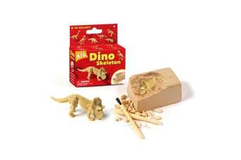 (dinosaur bone toy) - XX Excavation Dig Kit for Kids Dinosaur Bone Skeleton Toy 6 Styles to Collect