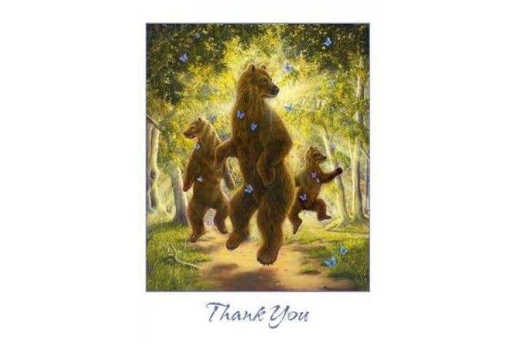 Robert Bissell: The Dancers Boxed Thank You Notes