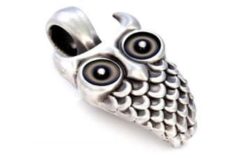 (Black) - Bico Owl Pendant (B224) - wisdom, Inspiration and guidance to deeply explore the unknown - Icon Jewellery