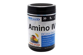 PEScience Amino IV, Orange Dreamsicle, 30 servings, BCAA with EAAs and Electrolytes