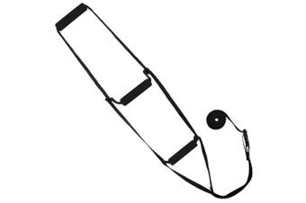 Bed Ladder Assist by Vive - Sit-Up Bed Assist Handle - Rope Ladder for Sitting Up In Bed - Pull Up Hoist for Elderly, Senior, Injury Recovery Patients and Pregnant Women - 3 Padded Hand Grips