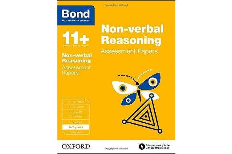 Bond 11 Nonverbal Reasoning Assessment Papers 6 to 7