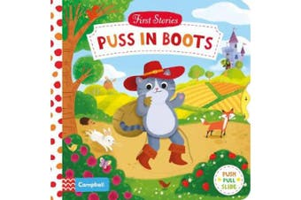 Puss in Boots (First Stories) [Board book]