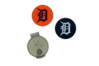 (Detroit Tigers) - MLB Hat Clip & 2 Ball Markers