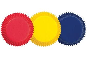 (Primary Colors) - Bake cups Primary Asst 75Ct