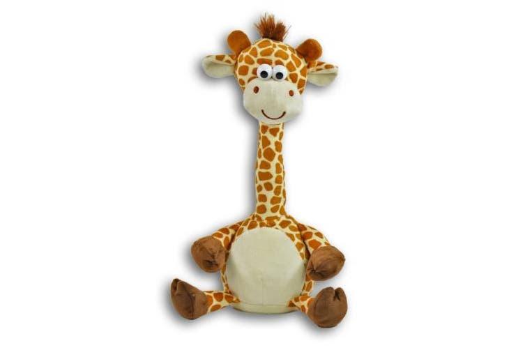 KÖGLER 76500 LABER – All This Nachplap Giraffe Dancing Pert, Plush, bunt