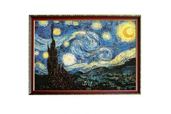 (2000The Starry Night) - CHengQiSM The Starry Night by Van Gogh Jigsaw Puzzles(2000 Pieces) for Kids Adult Man Women Teens Reduced Pressure Toy Gift - Learning and Education Toys Gift Children's Day Gift
