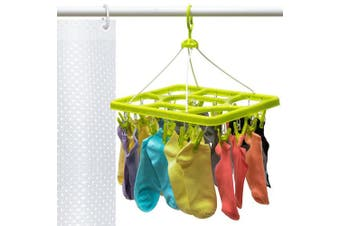 Artmoon Remark Clip Drying Drip Hanger for Underwear And Socks with 24 strong Pegs 15.2 X 29cm X 35cm