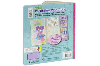Sesame Street Abby Caddaby Play-A-Sound Book