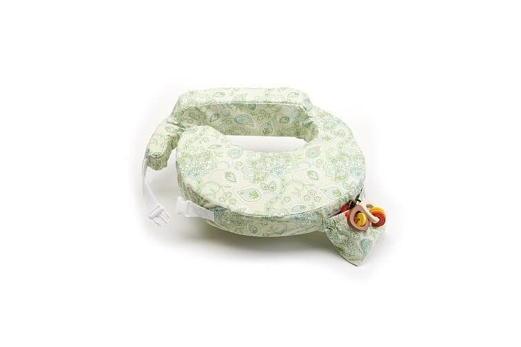 My Brest Friend Green Paisley Travel Nursing Pillow