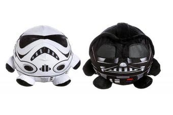 (2, Darth Vader & Stormtrooper) - Star Wars Palz Plush Night Light! 15cm Height 20cm Wide! Perfect Nightstand Pal for Your Little Padawan! (Darth Vader & Stormtrooper)