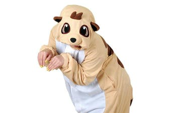 (Large, Orange) - wotogold Animal Lion Pyjamas Unisex Adult Cosplay Costumes