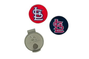 (St. Louis Cardinals) - MLB Hat Clip & 2 Ball Markers