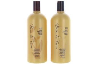 (Shampoo & Conditioner 33.8) - Bain de Terre Passion Flower Colour Preserving Shampoo and Conditioner 1000ml
