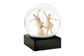 CoolSnowGlobes Trio Ballerina Snow Globe