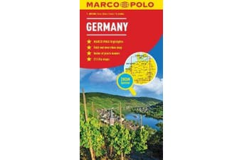 Germany Map (Marco Polo Maps)